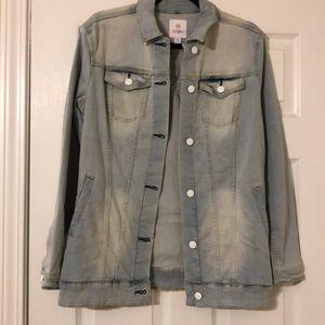 Lularoe Jaxon denim jacket